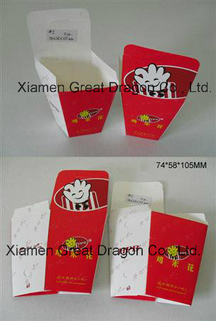Disposable Paper Food Tray, Holds Nachos, Fries, Hot Dogs (GD-PCB001)