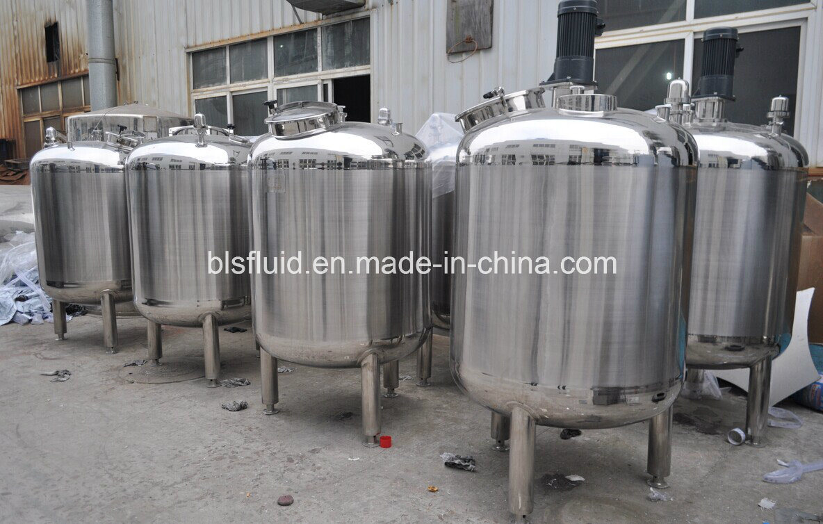 Food Grade Stainless Steel Blending Vessel