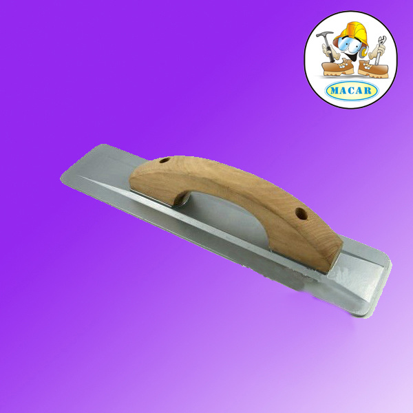 Stainless Steel Plastering Trowel with Plastic Handle