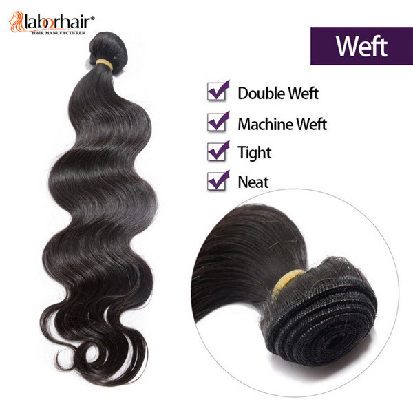 7A Grade Top Quality Remy 100% Natural Brazilian Virgin Human Hair Extension Hair Weave Lbh 088