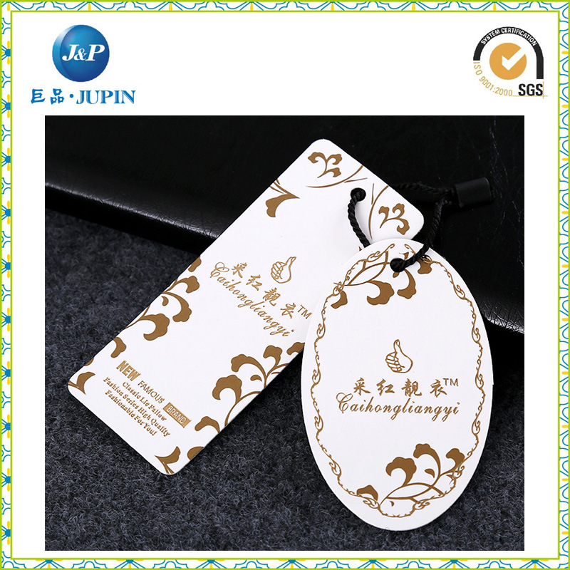 2016factory Price Custom Fabric Hang Tags (JP-HT042)
