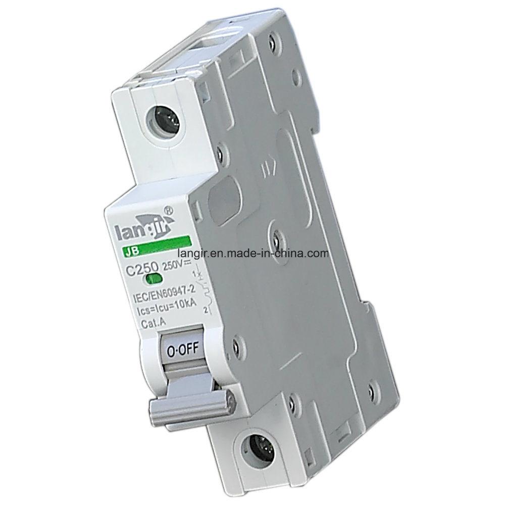 2p DC 500V Solar Photovoltaic DC Circuit Breaker with TUV Certificate