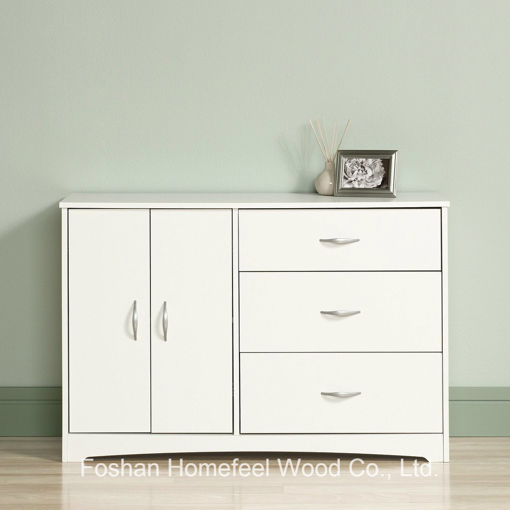 China Living Room 2+4 Wood Storage Cabinet Dresser in White Photos ...