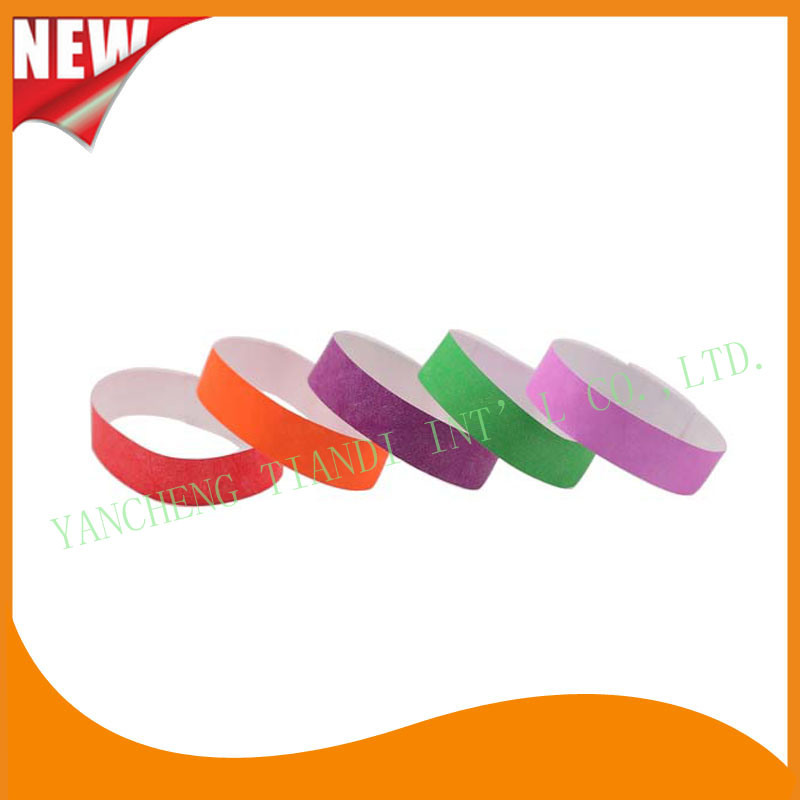 Entertainment Tyvek Customed Cheap Party VIP Wristbands (E3000-2-18)