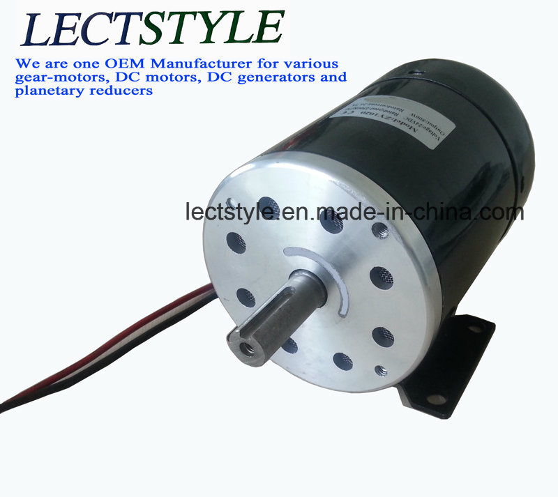 China 12v 500w dc permanent magnet power generator wind Dc motor to generator