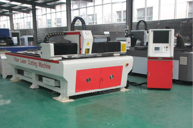 300W 500W 750W 1000W Fiber Metal Laser Cutting Machine Dek-1325