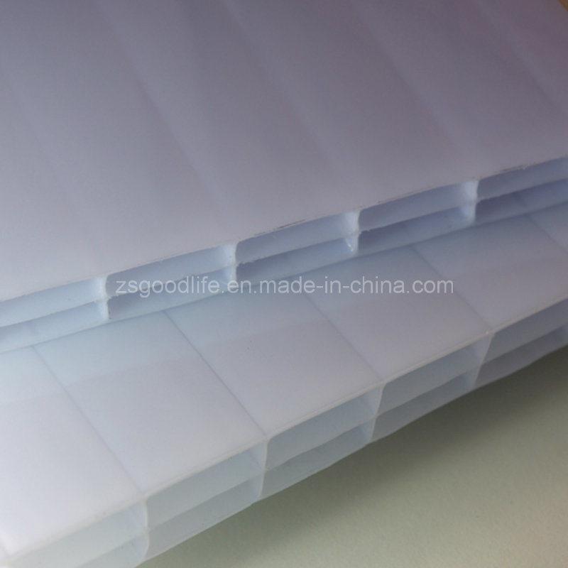 Opal White Polycarbonate Triple Wall Hollow Sheet