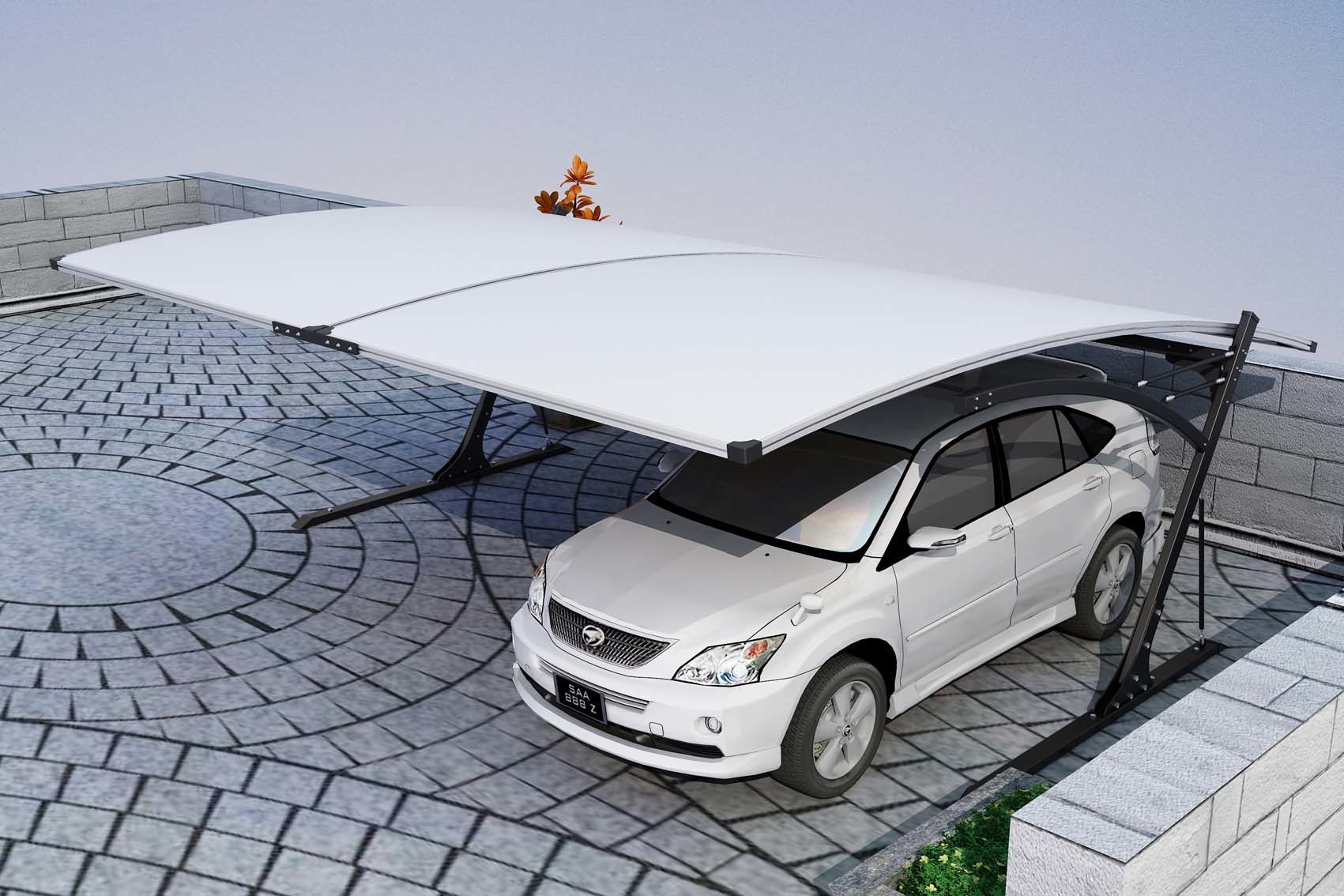 Strong and Steady Canopy Carport with All-Alminum Frame