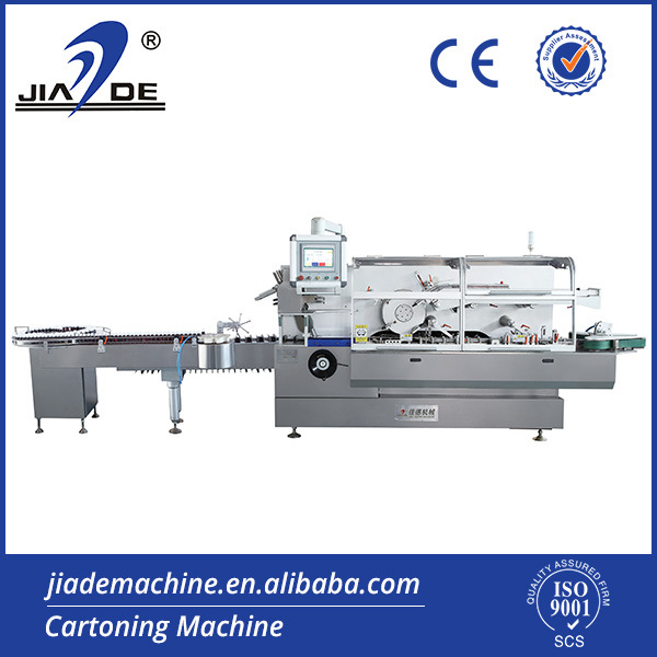 Automatic High Speed Cosmetic in Bottle Cartoner (JDZ-260P)