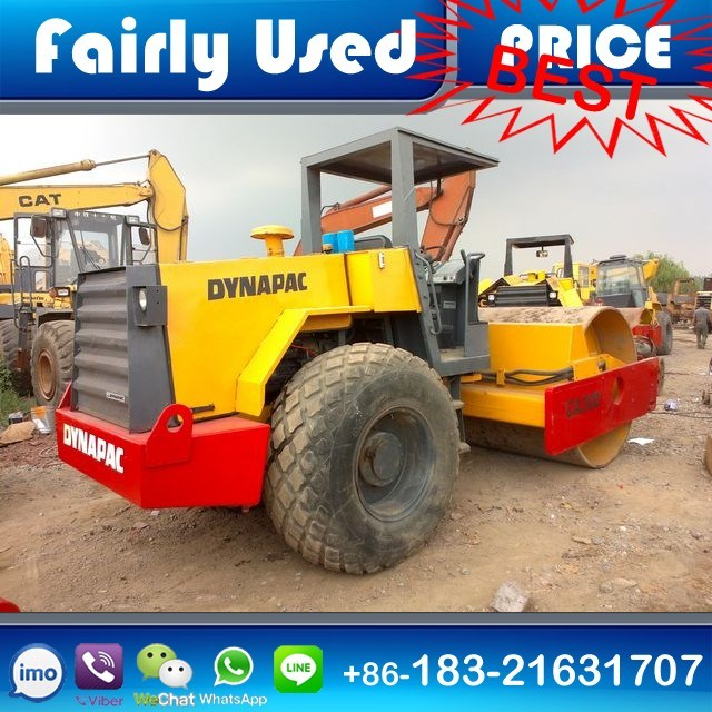 Used Vibratory Compactor Dynapac Ca30d Road Roller 12 Ton/Single Drum
