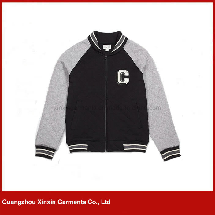 Custom Fashion Design Zipper up Cheap Cotton Hoodies for Men for Sports (T08)