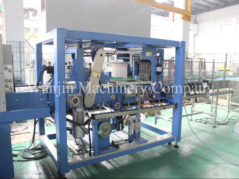 Full Automatic High Speed Wrapping Machine for One Roll Film