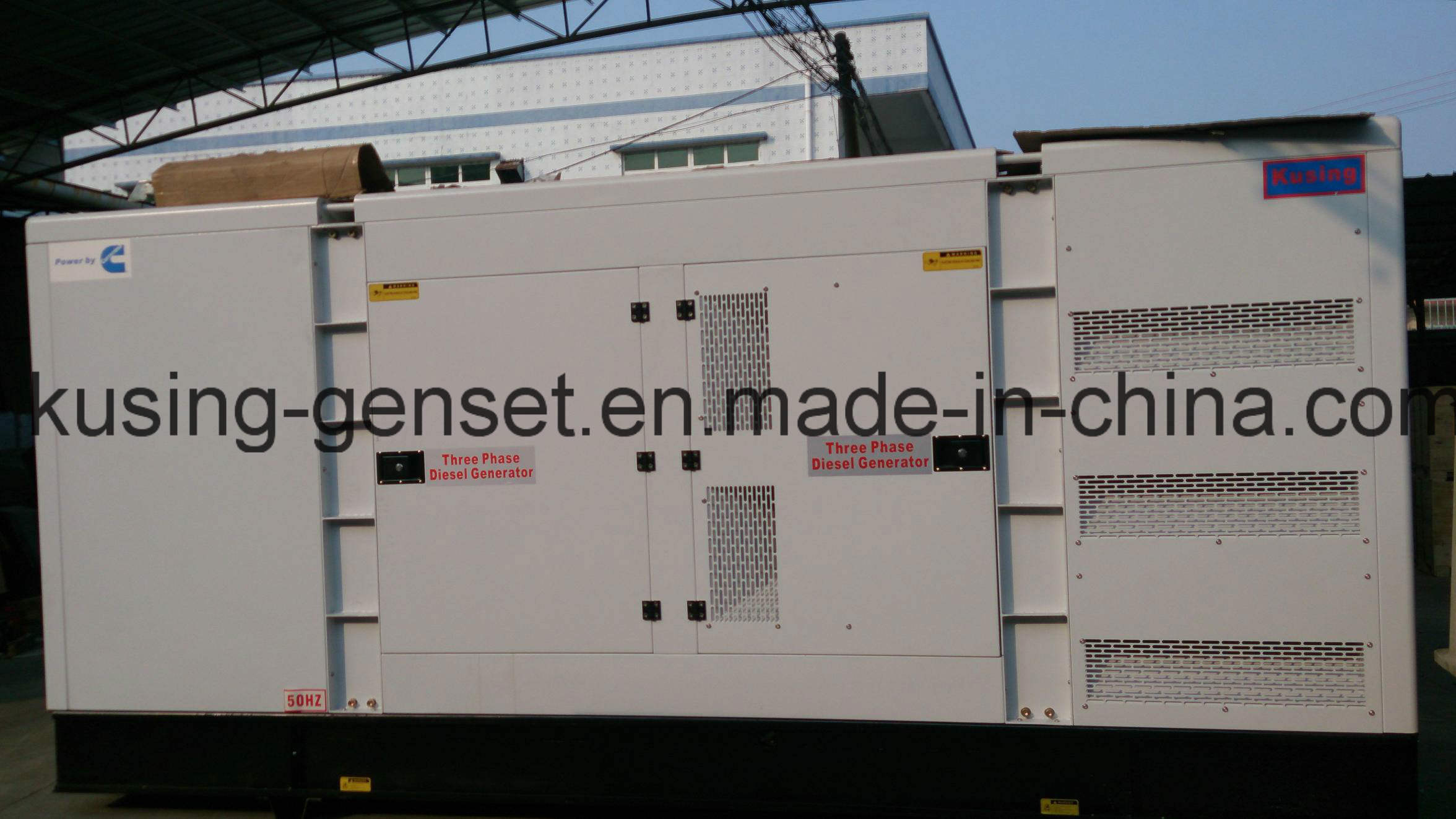 30kVA-2250kVA Diesel Silent Generator with Cummins Engine (CK31200)