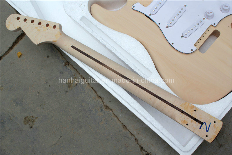 Hanhai Music / St Style Electric Guitar Kit / DIY Guitar