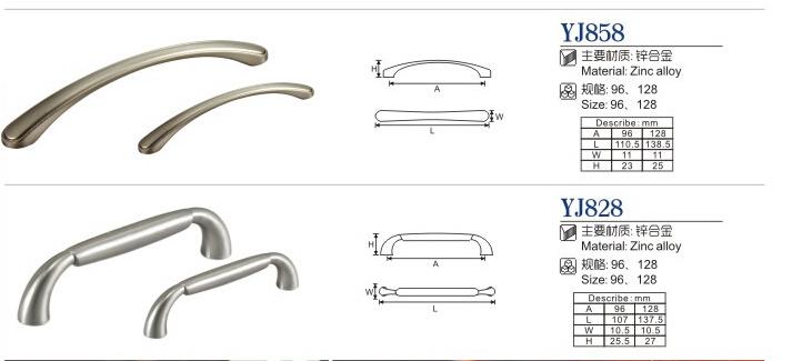 Zinc Alloy Furniture Handle/ Furniture Hadware/ Furniture Accessories