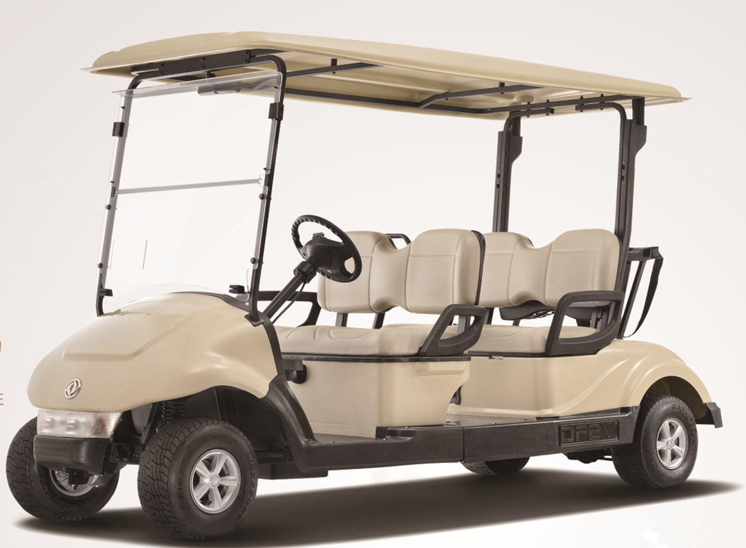 China Best 4 Seater Electric/Battery Operated Golf Car by Dongfeng, CE Certificate