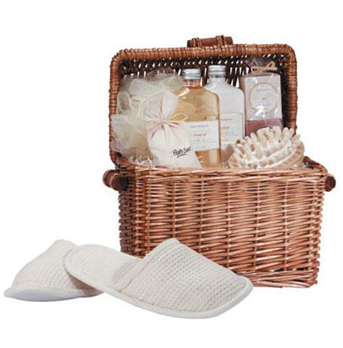 Creative Printing Ceramic Accessories Gift Bath Set
