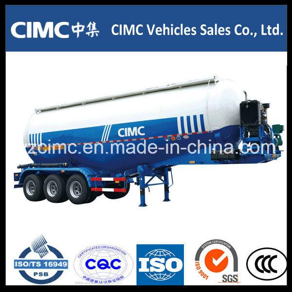 Cimc Tri-Axle Cement Bulker Trailer / Bulk Cement Trailer/ Cement Tanker