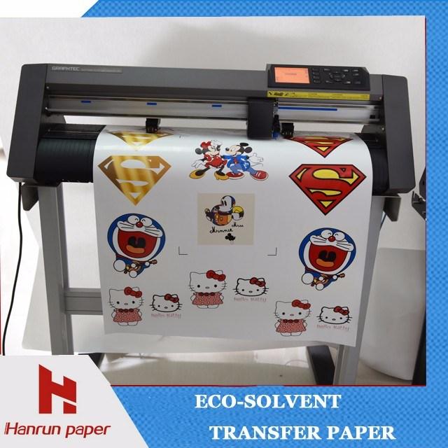 Easy Cut Printable Dark Eco Solvent Heat Transfer Paper/Vinyl for Garment, Clothing, T-Shirt