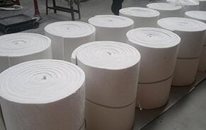 Alumina - Silicate Ceramic Fiber Blanket for Boiler Insulation