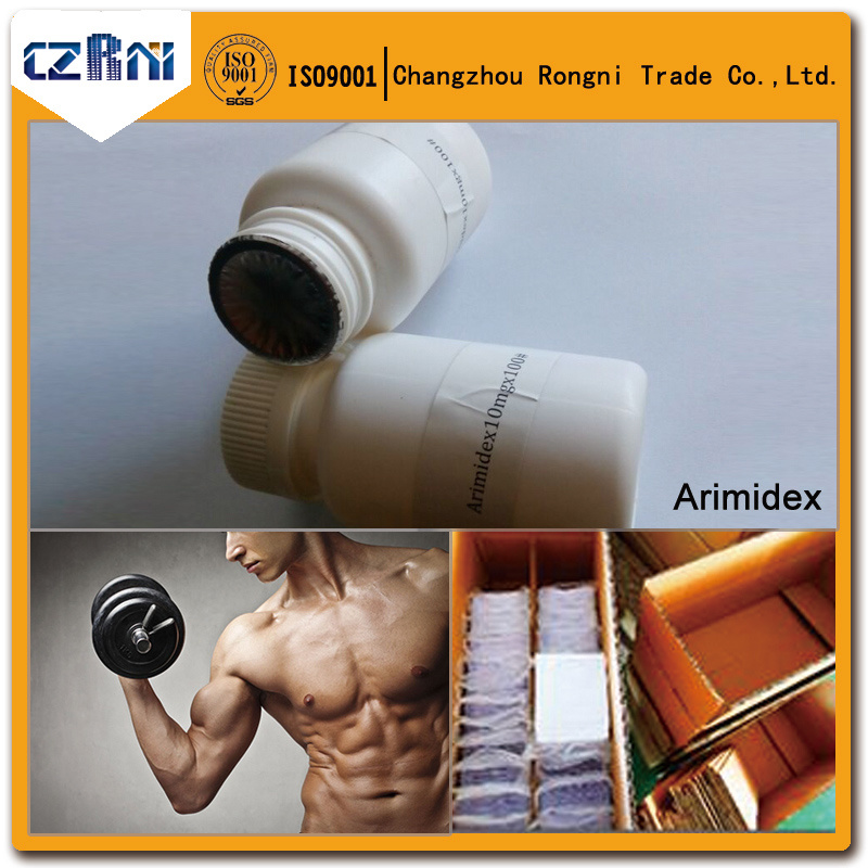 Bodybuiding Steroid Top Quality Hot Sale Arimidex/Anastrozol