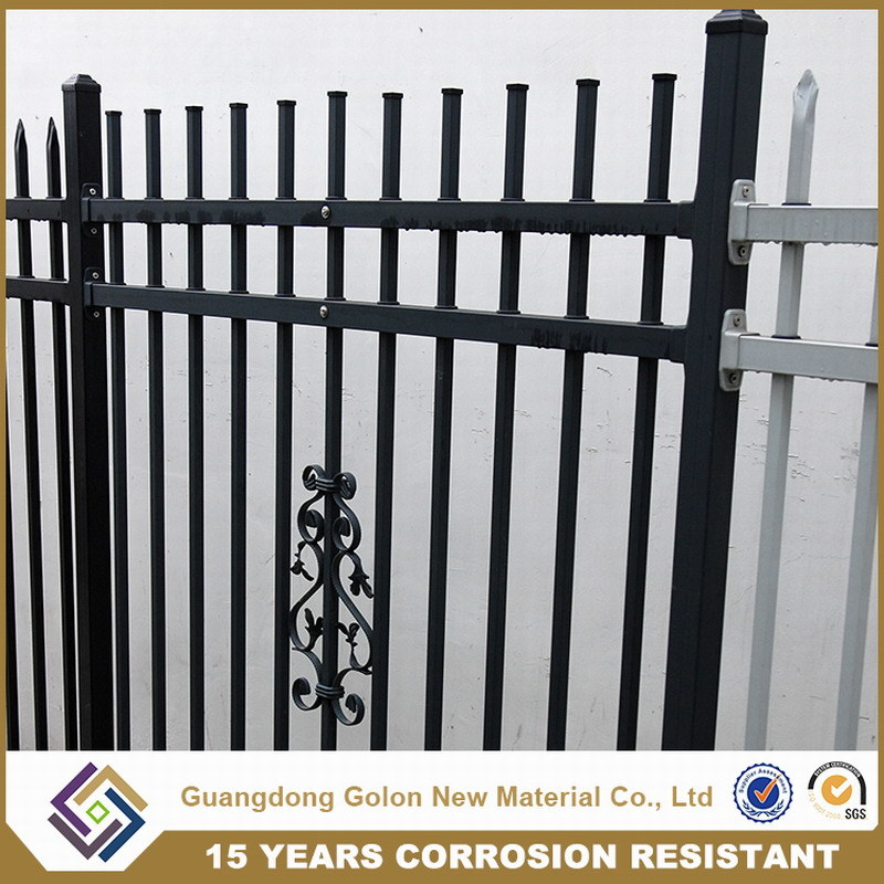 Garden or Yard Decor Wrought Iron Used Fence Panels