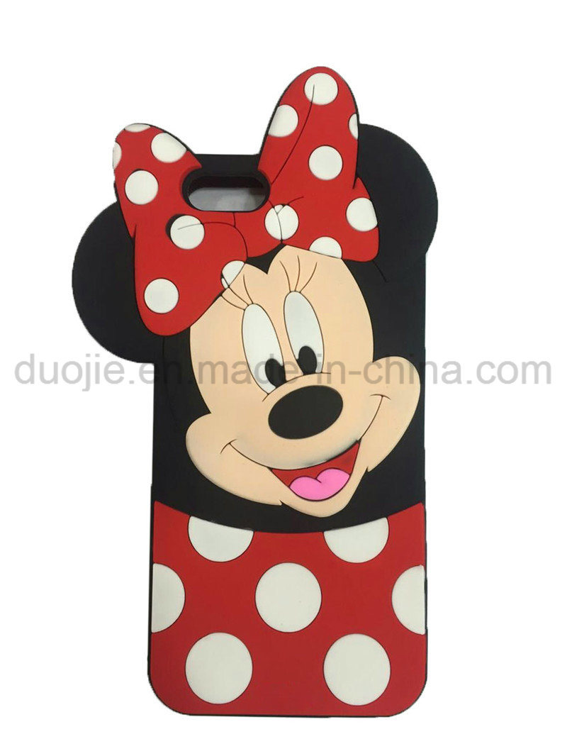 DOT Mickey Minnie Silicone Phone Case for Samsung Galaxy J7prime J5prime Case (XSD-002)