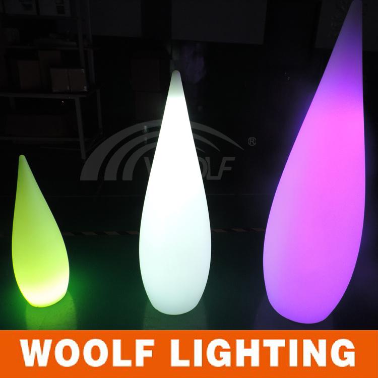 Modern Lights LED Indoor Outdoor Floor Lamp Water-Drop Lamp