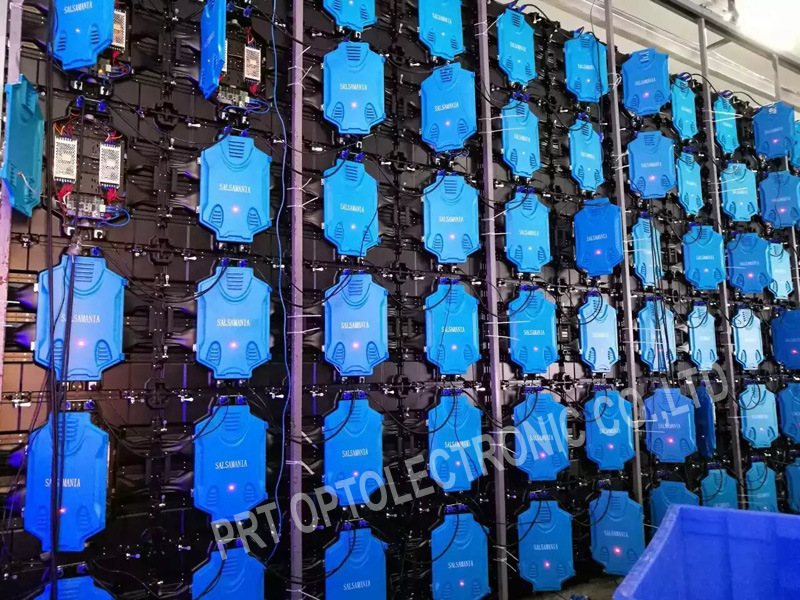 SMD3535 P8 Outdoor Full Color LED Display with Panel 640X640mm