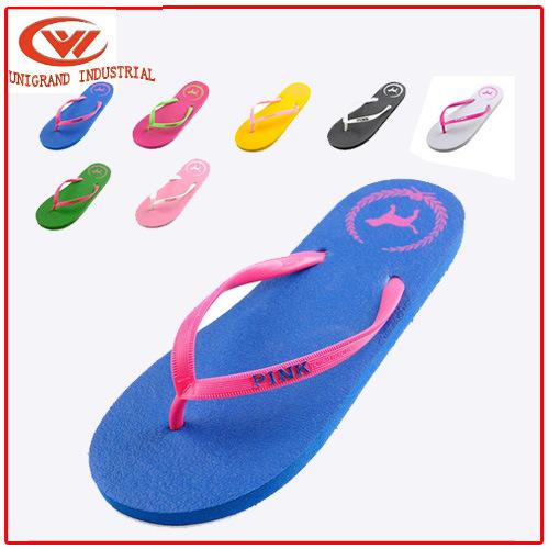 Summer Fashion Women Flat Flip Flops Beach Casual Outdoor Slipper