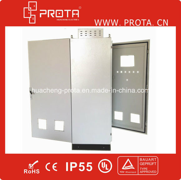 Steel Power Distribution Enclosure with Double Doors