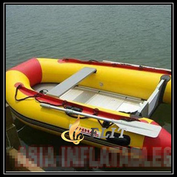 2016 New Hypalon Boat Inflatable Boat with Outboard Motor