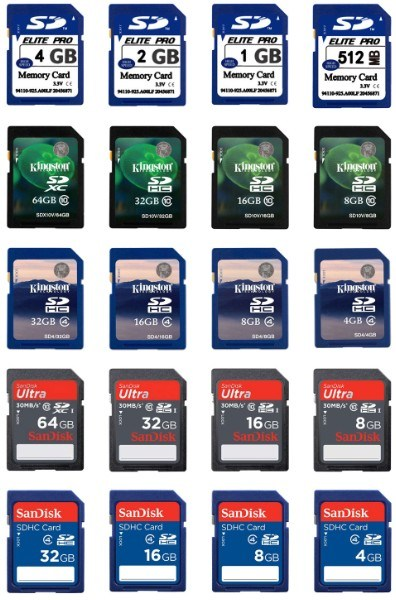 Gifts Full SD Memory Card Quality Assurance 8g