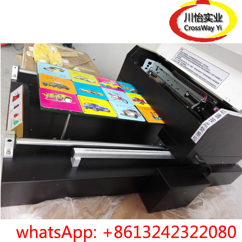Direct UV Printer with White Color Printing All Flatbed Materails