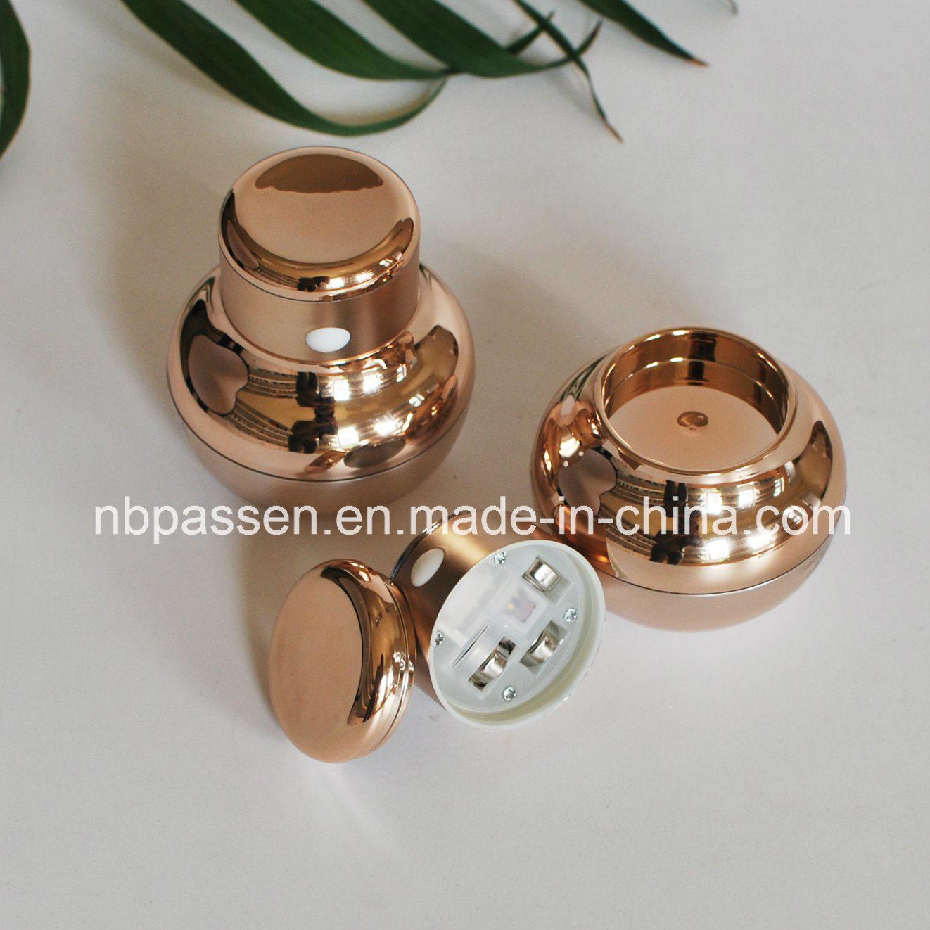 Luxury Electric Shake Massage Acrylic Cream Jar for Cosmetics (PPC-NEW-112)