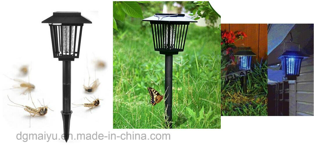 Mosquito Ultra Insect Pest Killer Solar Repellent Garden Lamp