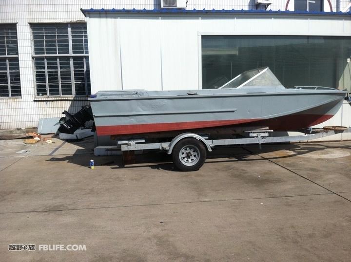 Aluminium Boat Altai580