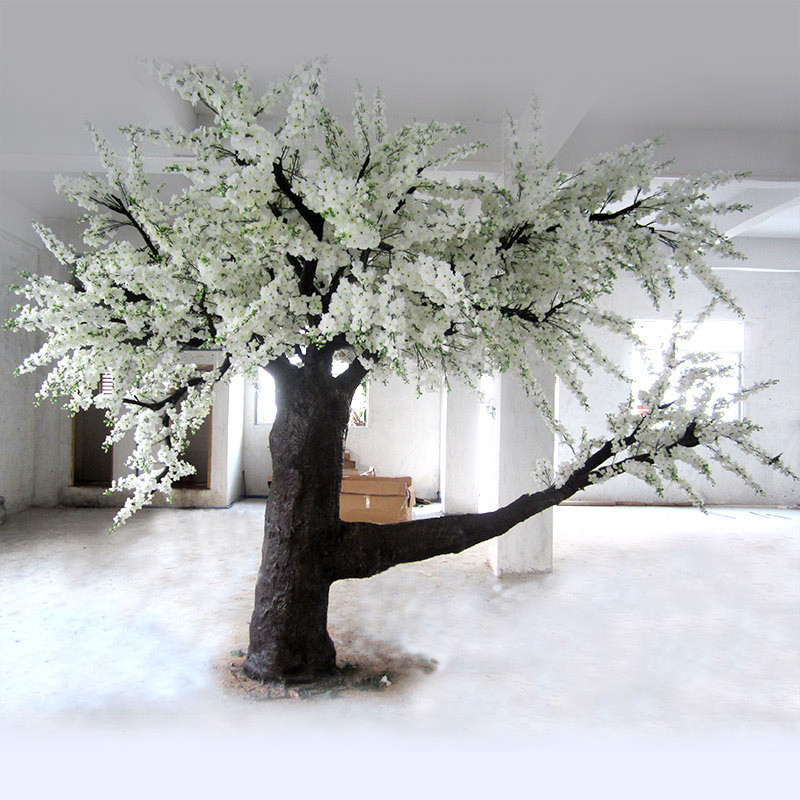Outdoor Artificial Fake Cherry Sakura Blossom Tree