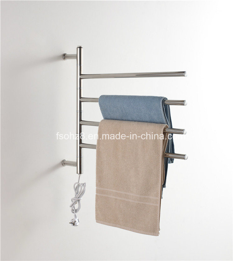 Removable Electric Towel Warmer Heated Bathroom Rack Dryer (9007)