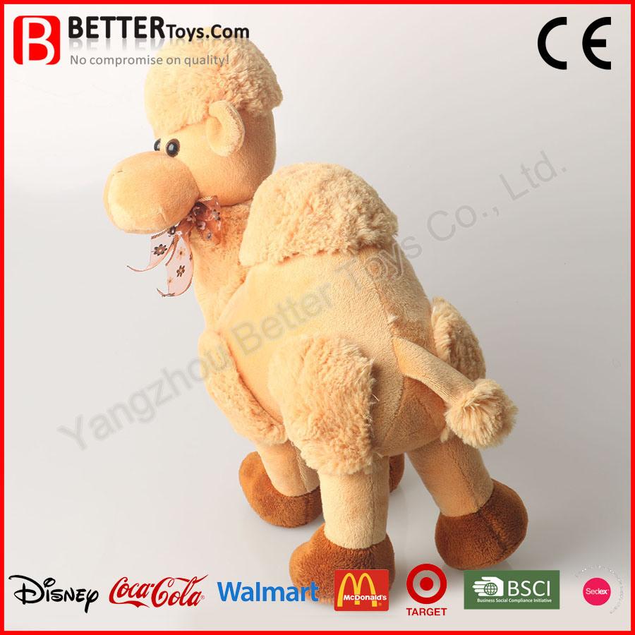 Wholesale Beautiful Stuffed Plush Soft Camel Toy