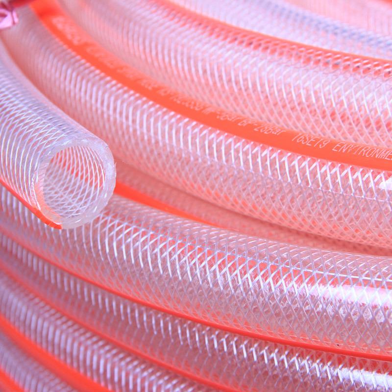 PVC Braided Reinforced Fiber Nylon Hose Ks-813nlg