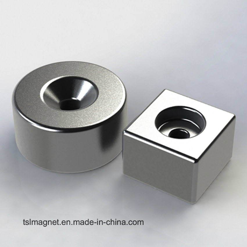 Powerful Permanent Sintered Neodymium Magnet for Bracelet (N35UH)