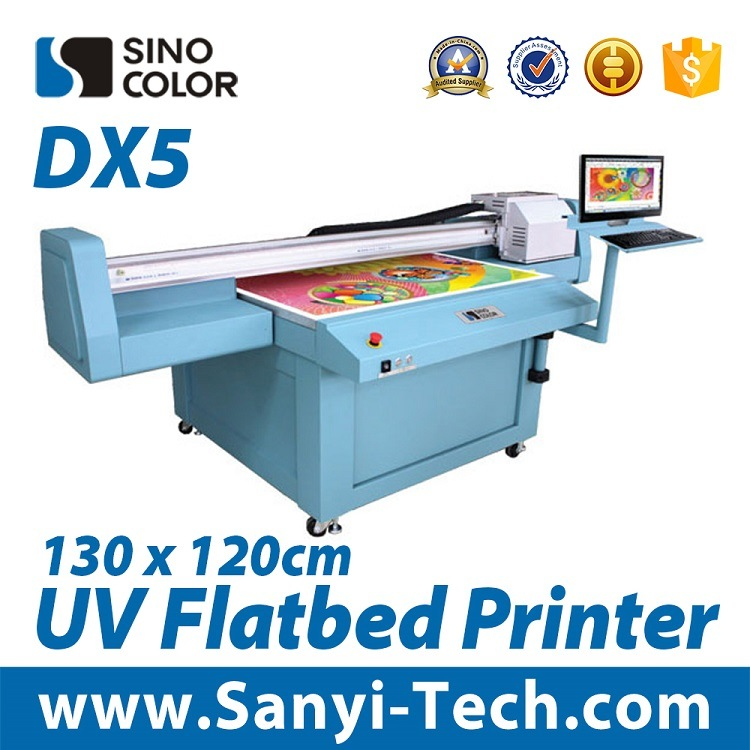 Sinocolor High Productivity UV Flatbed Printer, Flatbed Printer, UV LED Printer, Digital Printer, Fb1312, Indoor Decoration
