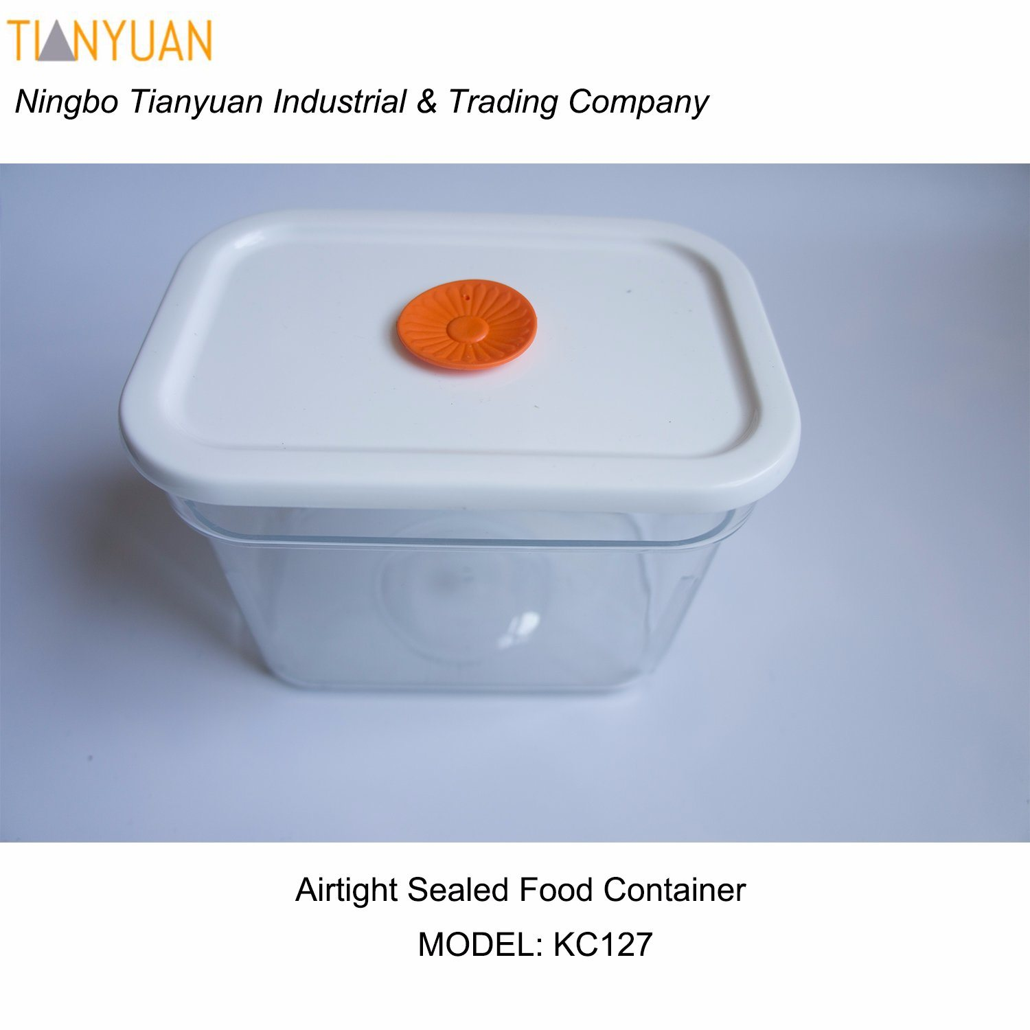 Airtight Sealed Rectangle Container for Food and Storage Organization