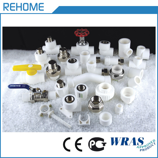 High Quality PPR Anti-Bacterial Piprs and Fittings with CE Certificate