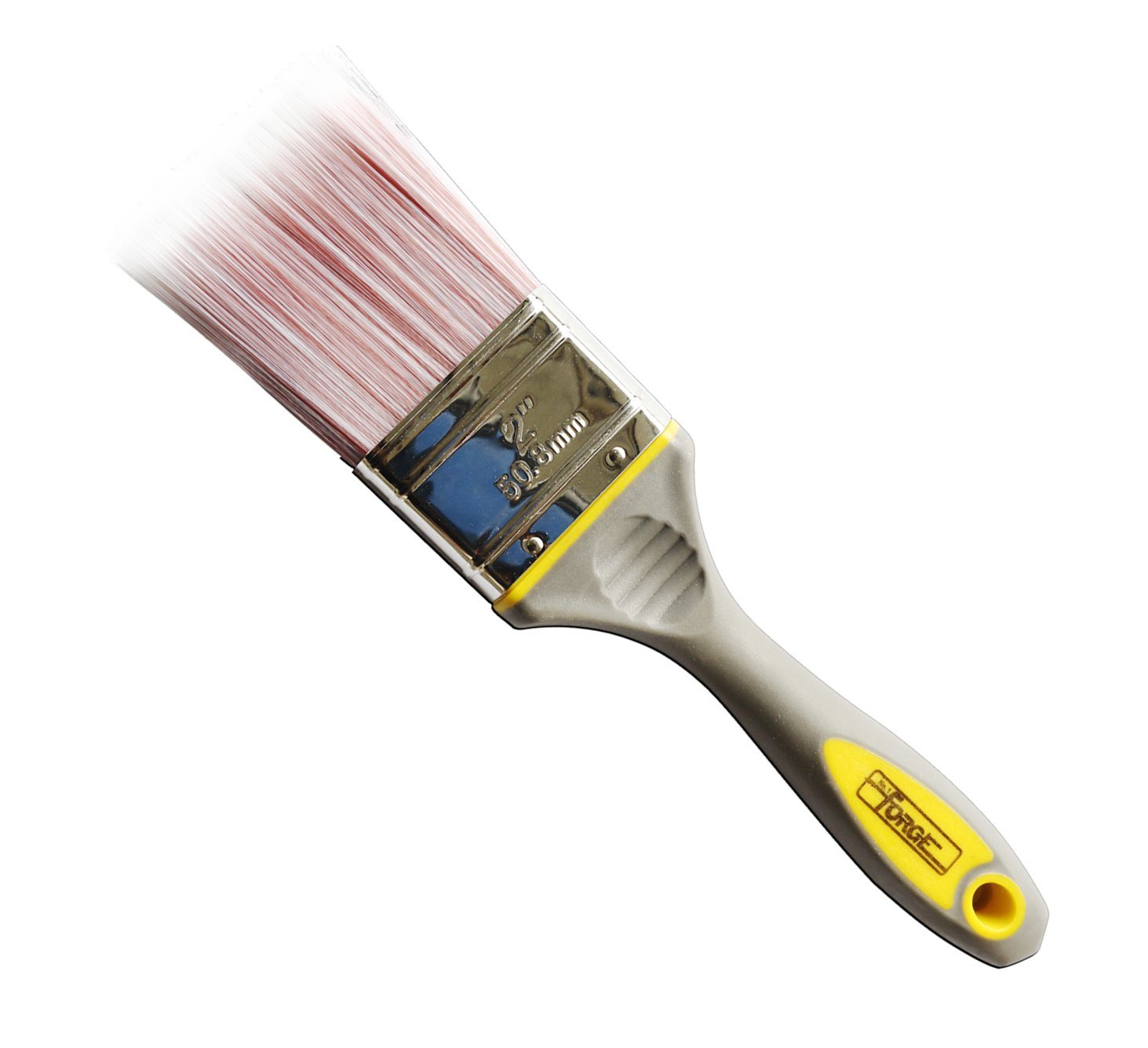 "2"" Painting Tools Paint Brush with Sharpened Synthetic Bristles and TPR Handle"