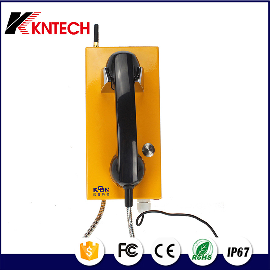 2017 Koontech Auto-Dial Emergency Phone Knzd-14 Help Phone Outdoor Telephone