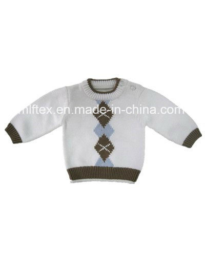 Comfortable Small Baby Knitted Sweater