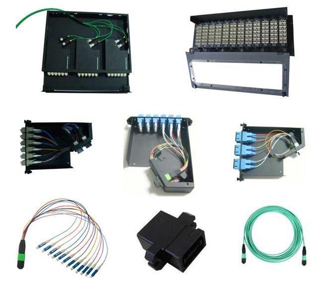 """24~48 Cores 19"""" 1u/2u Fiber Optic ODF or Rack Mount Patch Panel"""