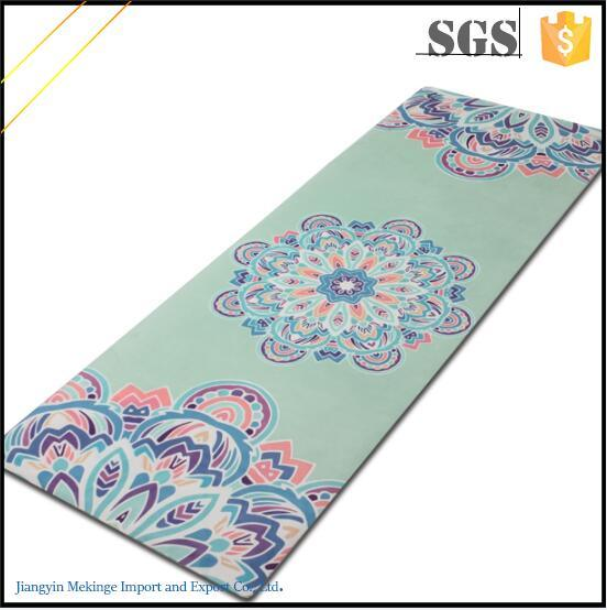 Light Weight Yoga Mats Custom Printed Exercise Equipment Mat Manufacturer